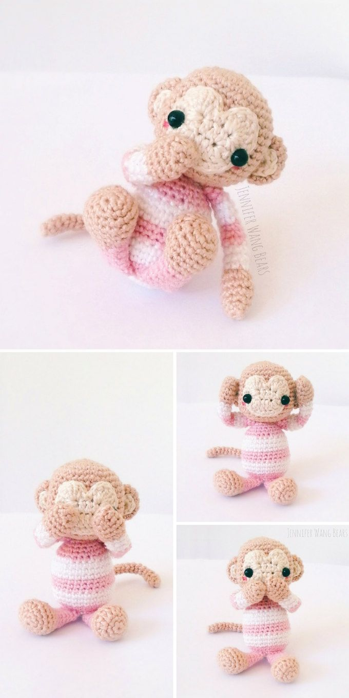 Amigurumi Monkey - pattern no longer available! - Pattern Center | 1360x680