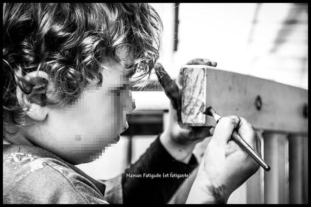 concentration peinture