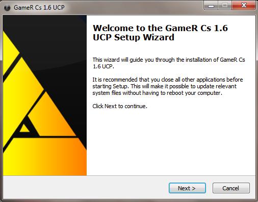 Counter Strike - GameR UCP 8.1