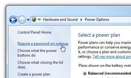 Thay đổi thiết lập mật khẩu đăng nhập trên Windows 8/7