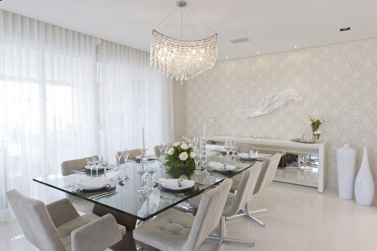 Armario Para Compressor Odontologico ~ Construindo Minha Casa Clean 21 Salas de Jantar dos Sonhos com Buffet ou Aparador!!!