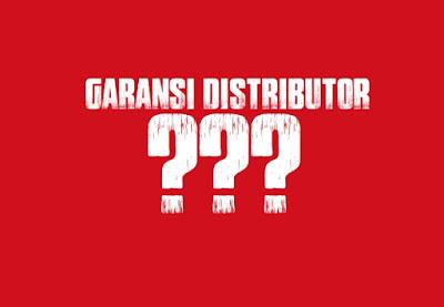 garansi distributor