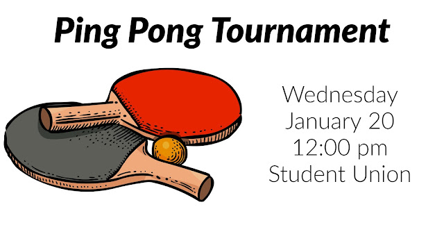 graphic with ping pong pattles