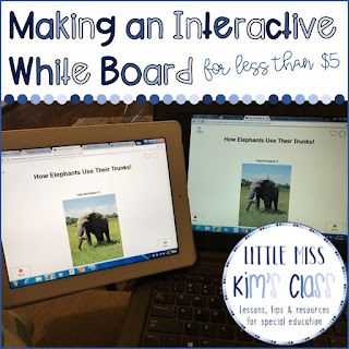 Making an Interactive White Board in the Classroom