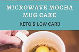 Low Carb Microwave Mocha Mug Cake