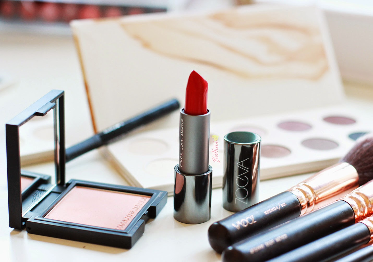 Zoeva Luxe Cream Lipstick - Cooling Passion