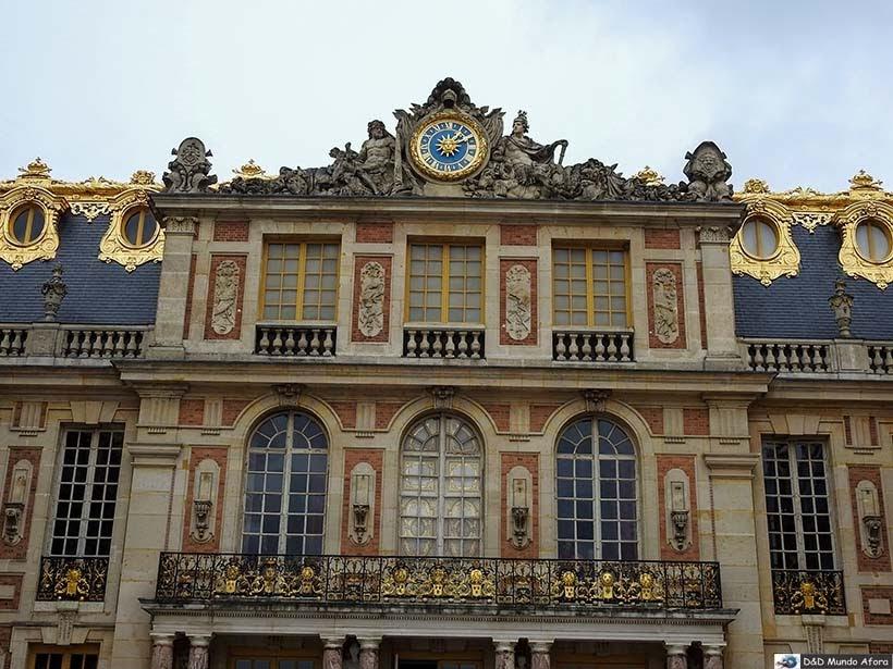 Detalhe do Palácio de Versalhes