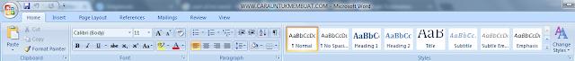 Bagian Bagian MS Word 1