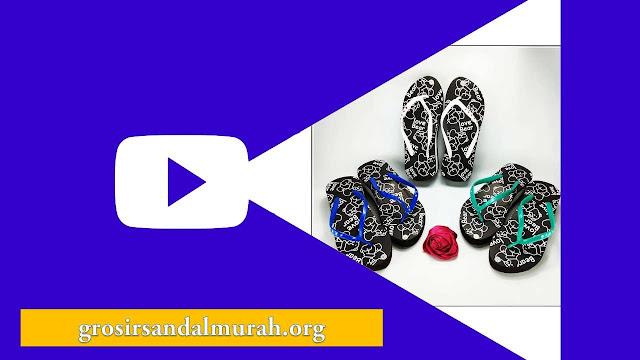 Grosirsandalmurah.org-Sandal Wanita-Cewe Tebal Love Bear