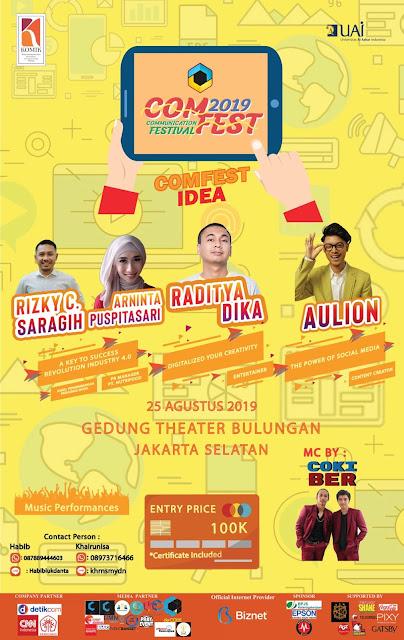 Universitas Al Azhar Indonesia - COMFEST IDEA 2019