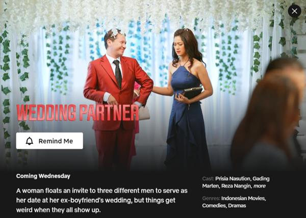 Wedding Partner - 25 November 2020