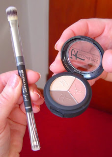 Luxe High-Performance Anti-Aging Eye Shadow Trio in Pretty in Spring and No-Tug Dual Airbrush Eyeshadow Brush.jpeg
