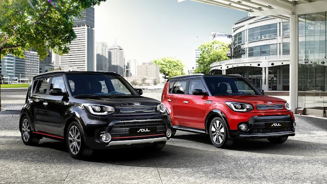 Updates to Kia Soul and Kia Carens