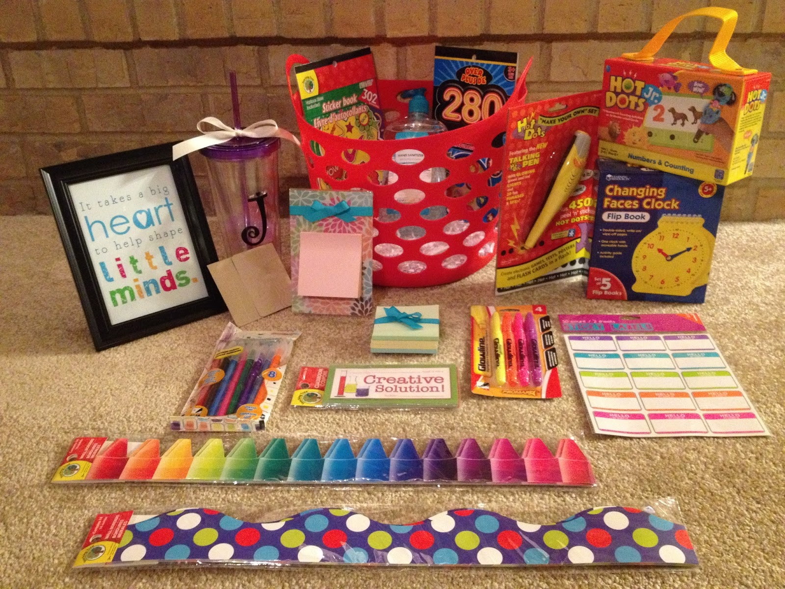 Sugar Spice Diy Teacher Gift Basket
