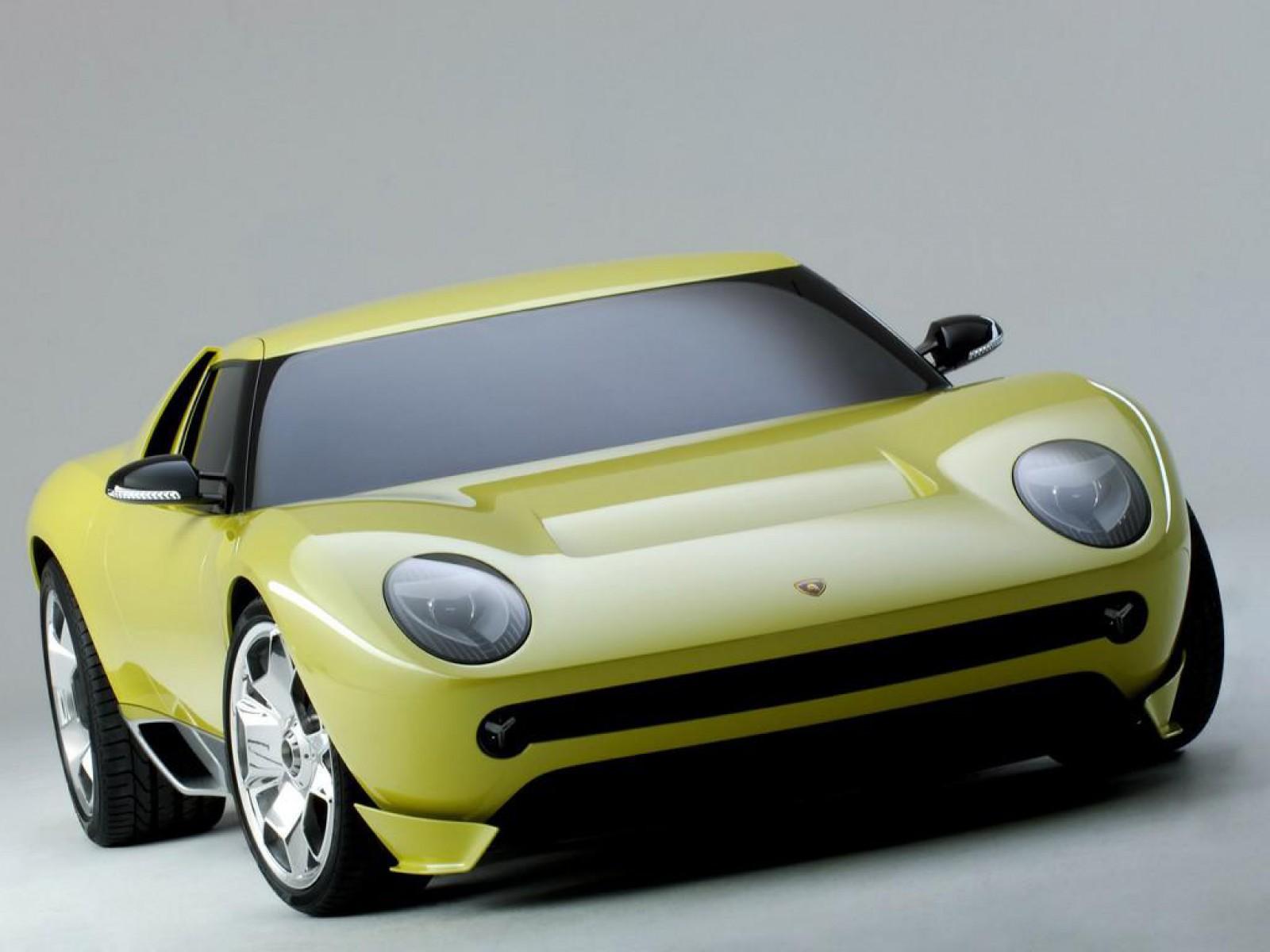 Luxury Lamborghini Cars: Lamborghini Miura Concept