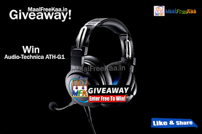 Audio-Technica ATH-G1 Free Giveaway