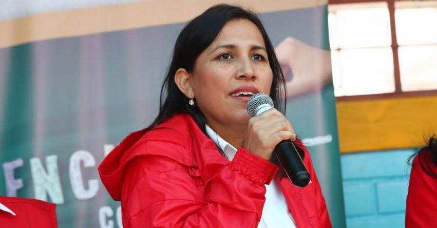 Ejecutivo y Congreso debemos atender expectativa ciudadana sobre reforma política, sostuvo la Ministra de Educación Flor Pablo Medina