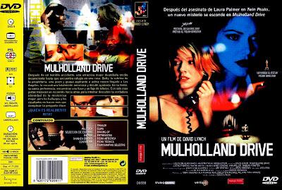Carátula dvd: Mulholland Drive