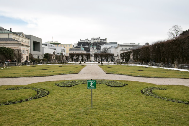 Giardini del Castello di Mirabell-Salisburgo