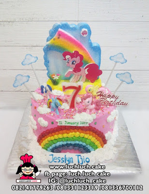 Kue Tart My Little Pony