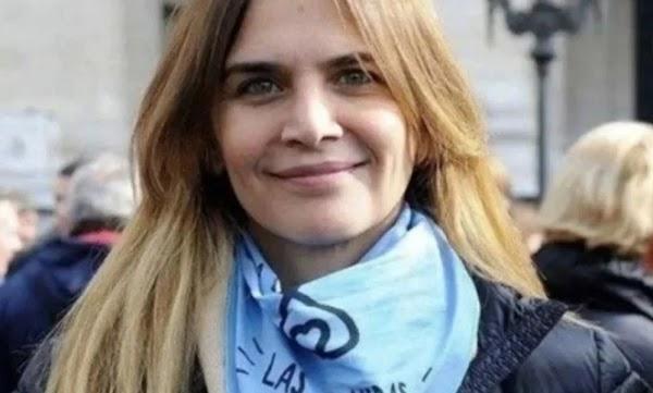 Amalia Granata se comparó con Evita
