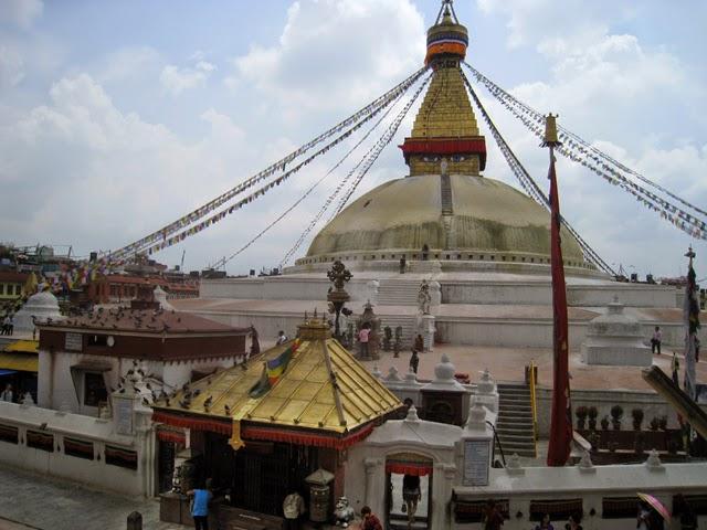 La estupa de Bodhnath