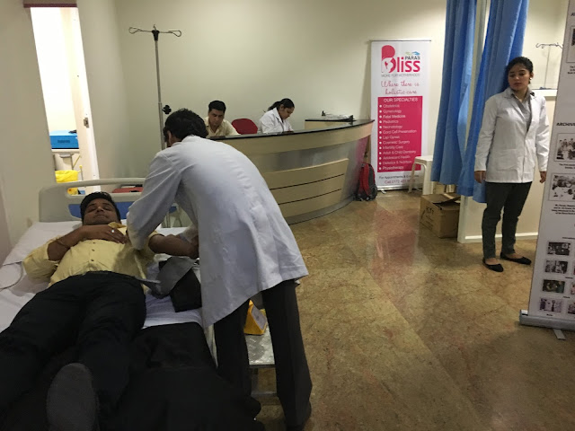 Paras Bliss Organizes Blood Donation Camp; Asks Panchkula Residents to Step Forward