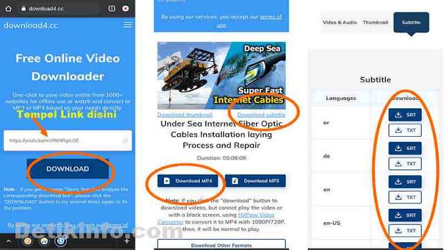 Download terjemahan video youtube Online tanpa aplikasi