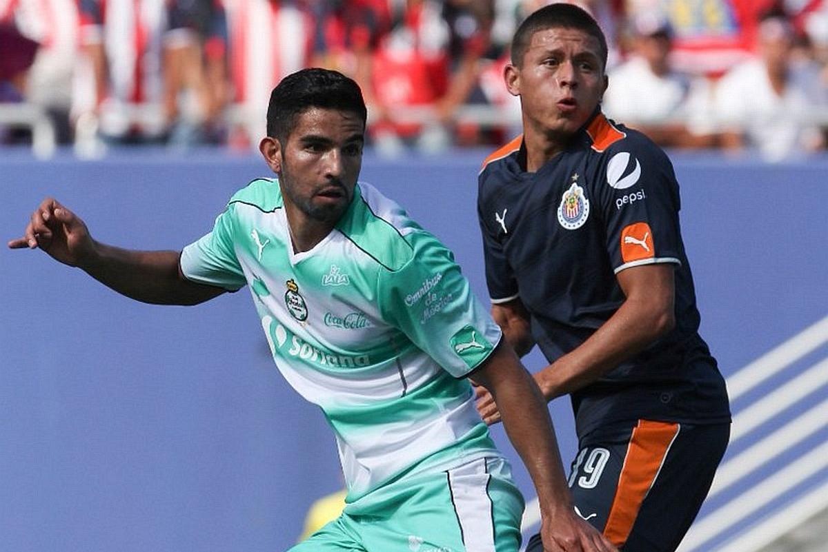Chivas arranca juegos amistosos con derrota 5-0 ante Santos.