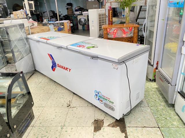 Sửa chửa tủ đông Sanaky 1199HY3 tại huế