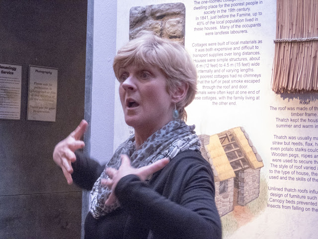 Terri Kearney of Skibbereen Heritage Center in West Cork Ireland