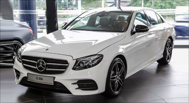 Mercedes E350 là mẫu xe được phân phối chính hãng hiếm hoi trong phân khúc E có động cơ lai