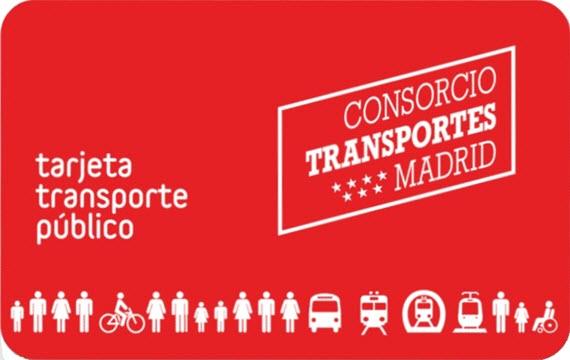 Nueva tarjeta de transporte p blico para billetes for Oficinas del consorcio de transportes de madrid puesto 2