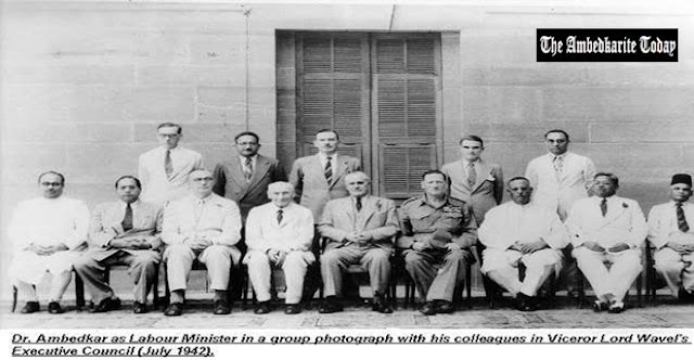 Dr Babasaheb Ambedkar who secured the rights of labourers in India