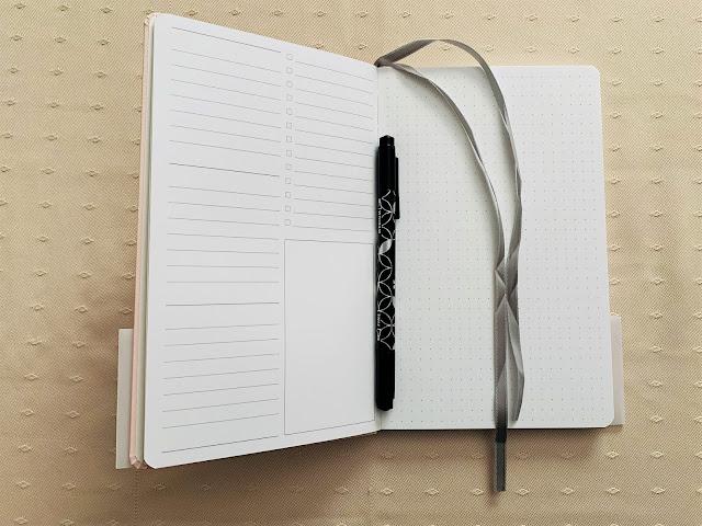 Focused Pink Notebook from Erin Condren
