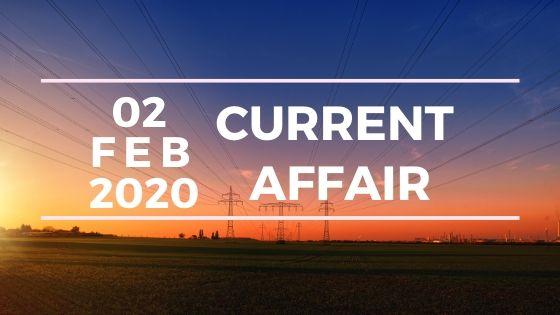 Current Affair 2 February 2020