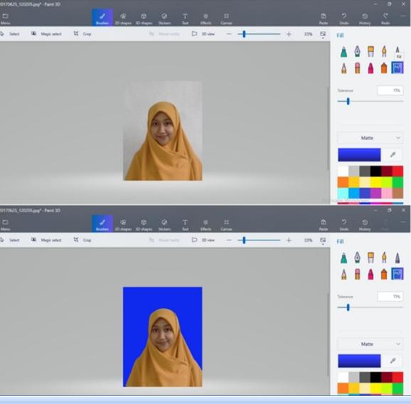 Cara Ubah Warna Background Merah-Biru di Paint