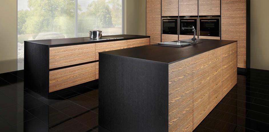 La madera en la cocina de vanguardia cocinas con estilo - Cocinas modernas madera ...