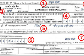 State bank of india ka cheque kaise bhare   Sbi बैंक से पैसे निकालने का फॉर्म कैसे भरें?