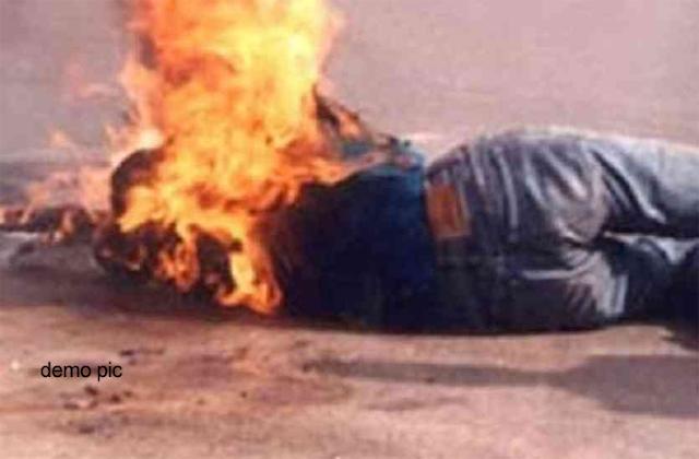 दलित ने दबंग को जीजा नहीं बोला तो जिंदा जला दिया | CRIME NEWS