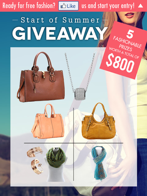 The birds are singing and the buds are blooming... summer is right around the corner! Robert Matthew is giving you the chance to start your summer right and win from over $800 in FREE fashion!
