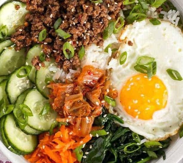 BIBIMBAP – THE ULTIMATE BOWL MEAL #koreanfood #dinner