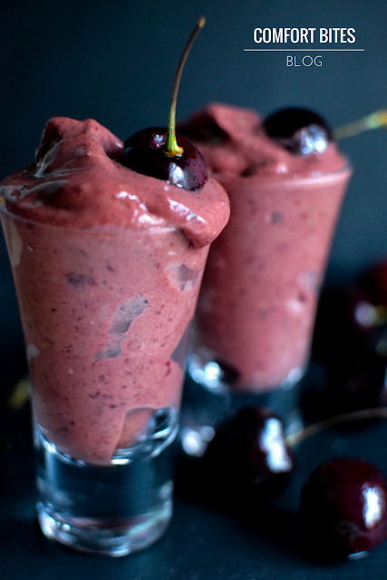 Black Forest Paleo Dessert Shots