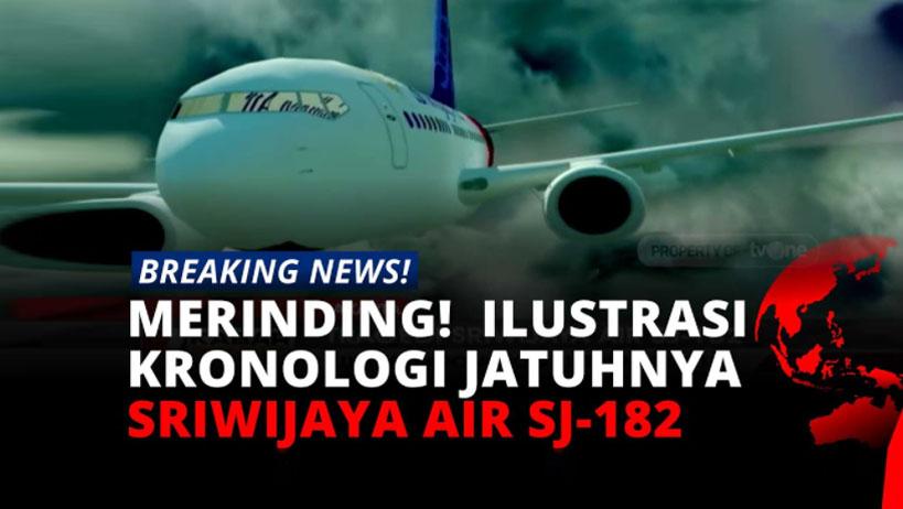 Merinding! Beginilah Ilustrasi Kronologi Tragedi Sriwijaya Air SJ-182