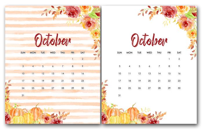 Free Downloadable Calendar