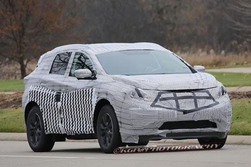 2017 Nissan Murano Spy Shots Concept Release Date