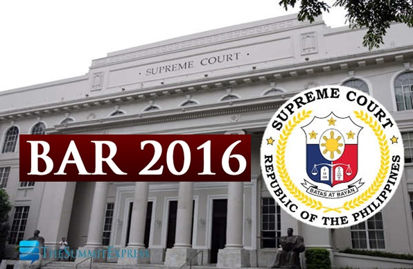 6,831 to take November 2016 Philippine Bar Exam