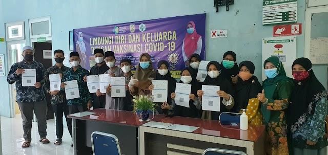 Semua Kafilah Aceh Jalani Vaksin Jelang STQHN