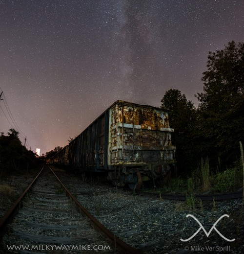 Train Decay Milky Way
