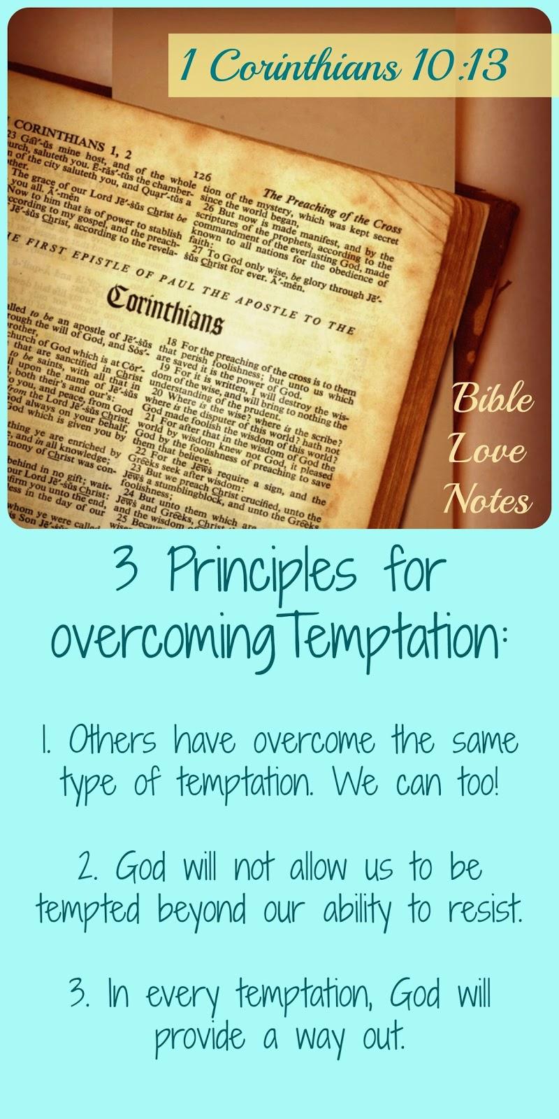 temptation, bible